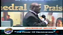 Bishop Michael Hutton - Wood - The Power Of Decisiveness Part 8 of 9.flv
