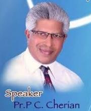 Pastor P.C. Cherian