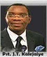 Pastor J.T Kalejaiye