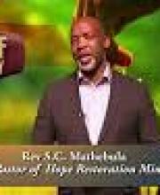 Rev SC Mathebula